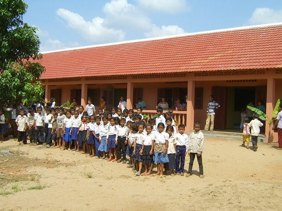 2011/2012: Schulhaus in Kampong Cham
