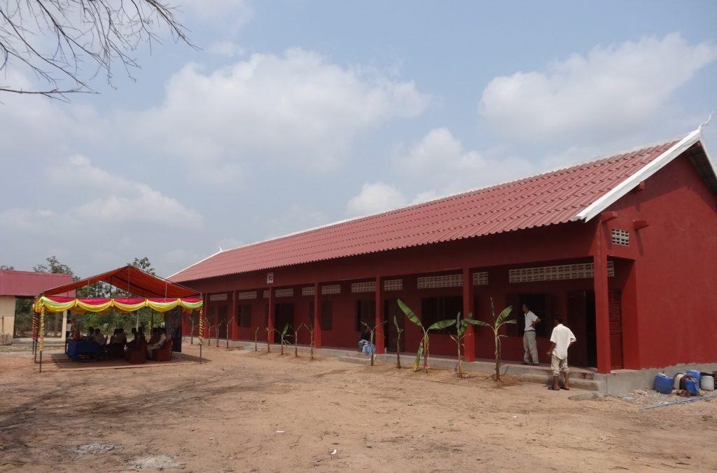 2012/2013: Schulhaus in Siem Reap