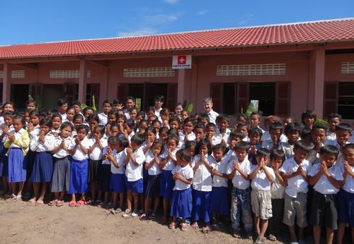 2014/2015: Projekt Tram Sosor village im Norden von Siem Reap