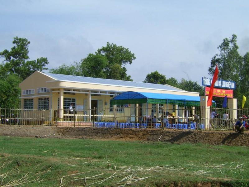 Kindergarten in Luu-Nghiep-Anh