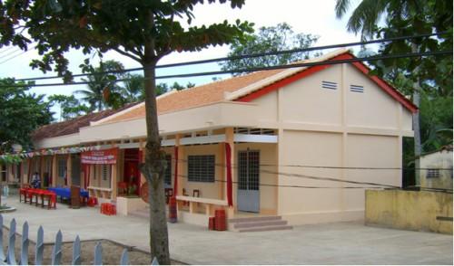 Schulhaus-Projekt in Quoi Thien